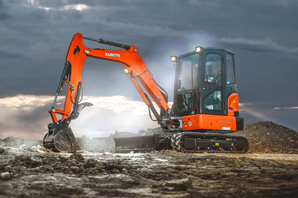 Kubota | Construction Equipment | Compact Excavators for sale at Pioneer Equipment California