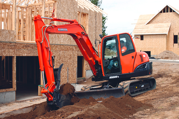 Kubota | K Series | Model KX080-4S for sale at Pioneer Equipment California