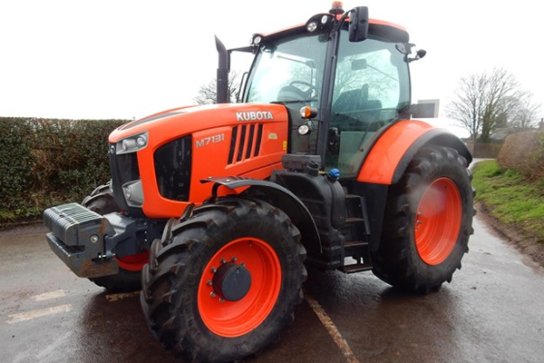 Kubota M7-131 for sale at Pioneer Equipment California