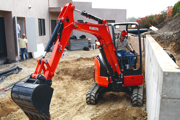 Kubota | U Series | Model U35-4 for sale at Pioneer Equipment California